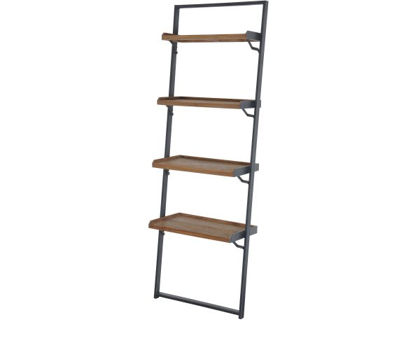 Reclaimed Teak Fendy Ladder Shelving