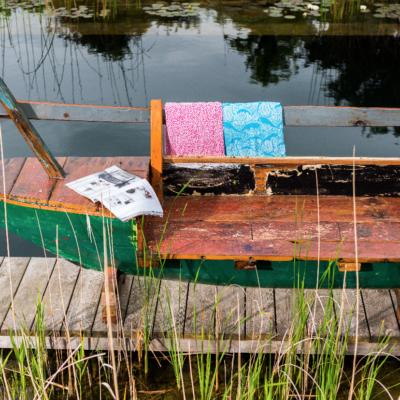 Reclaimed Javanese Fishing Boat Bench