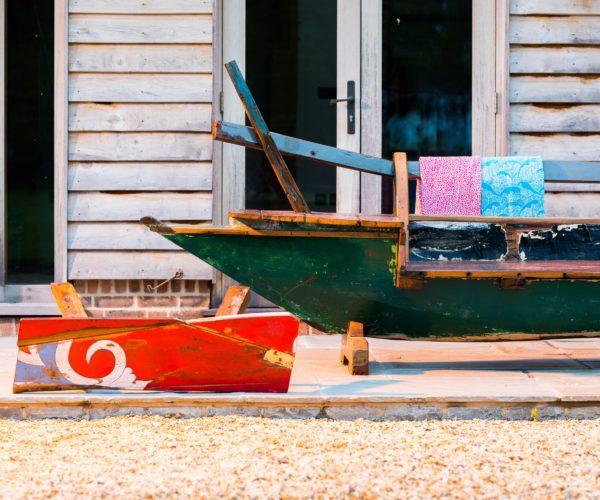 Reclaimed Javanese Fishing Boat Seat