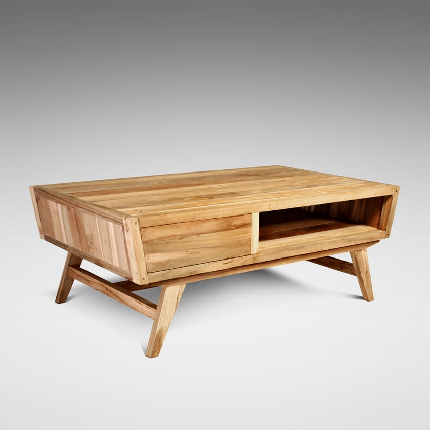 Reclaimed Teak Coffee Table LENA
