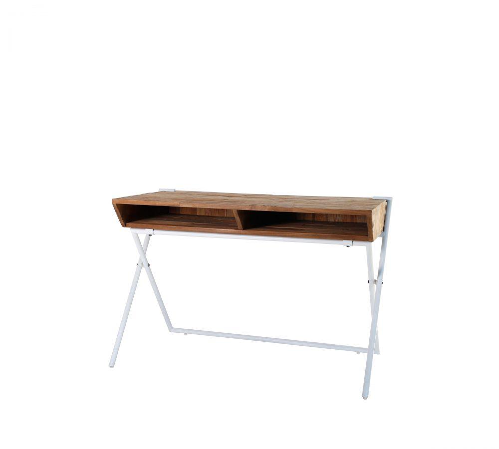 Reclaimed Teak Contour Desk