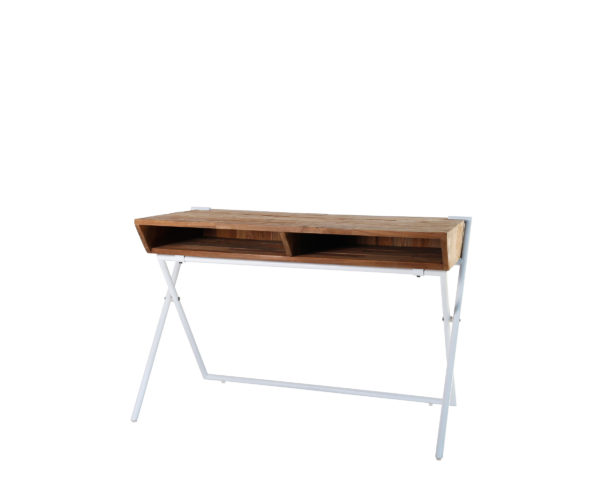 Reclaimed Teak Contour Desk