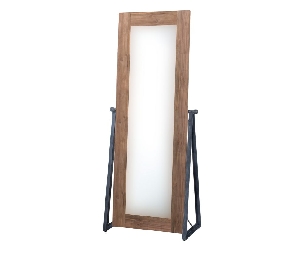 Reclaimed Teak Fendy Cheval Mirror