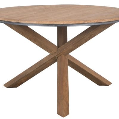 Reclaimed Teak Fendy Round Dining Table