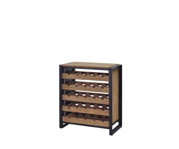 Reclaimed Teak Fendy Wine Cabinet