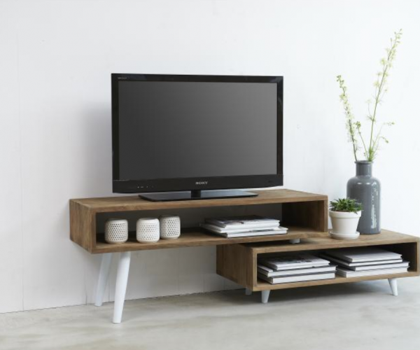 Reclaimed Teak Fusion TV Stand