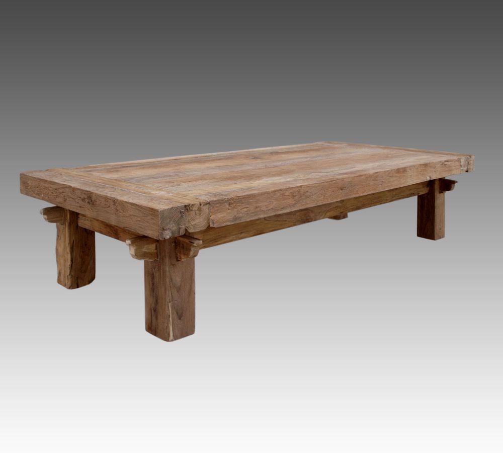 Reclaimed Teak Quattro Rustic Coffee Table