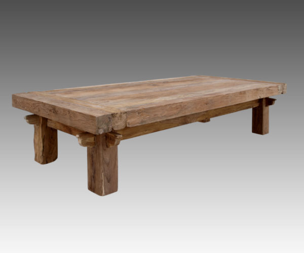 Reclaimed Teak Quattro Rustic Coffee Table