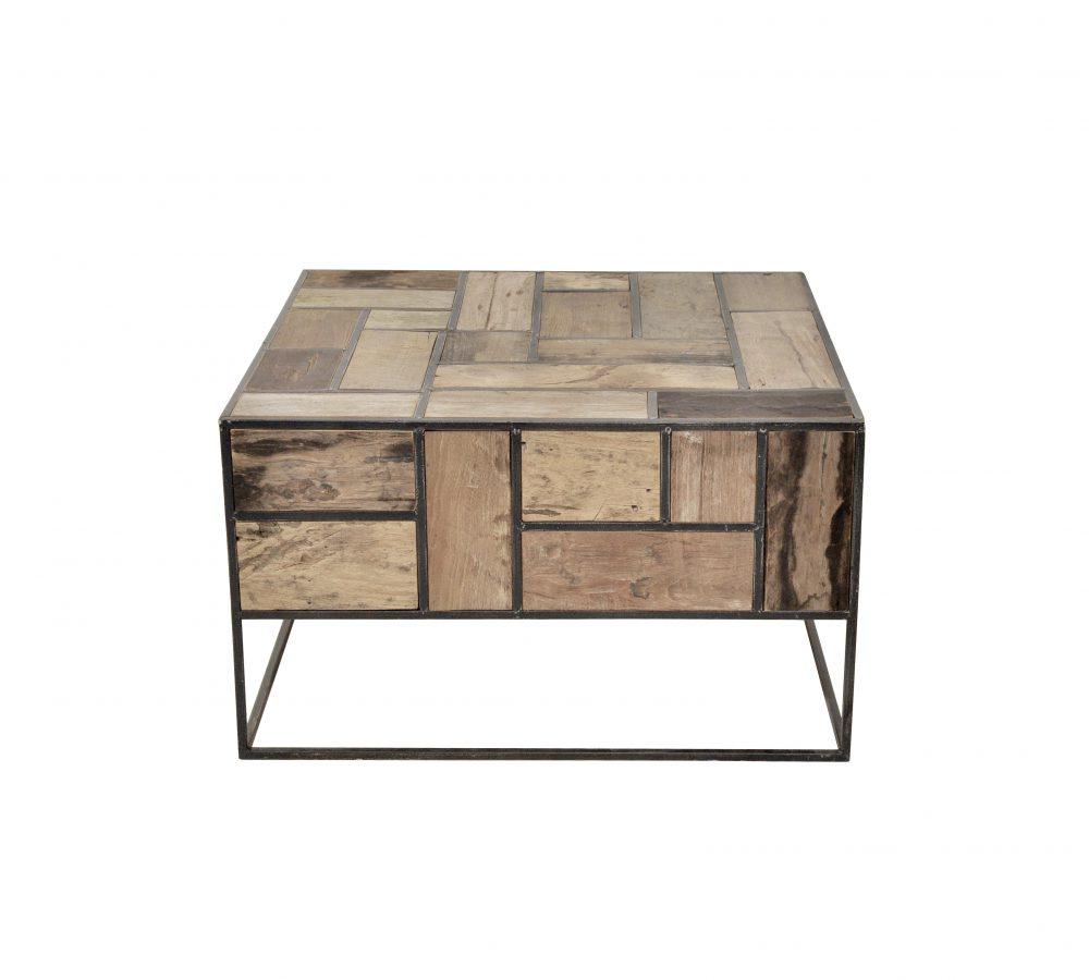 d-Bodhi Mondrian Coffee Table w:side reclaimed teak