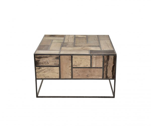 d-Bodhi Mondrian Coffee Table w:side reclaimed teak