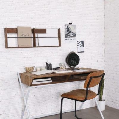 reclaimed teak CO desk