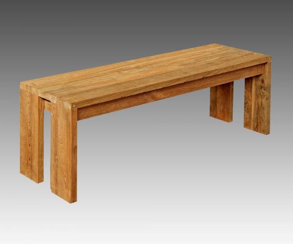 reclaimed teak Long Bench cranny