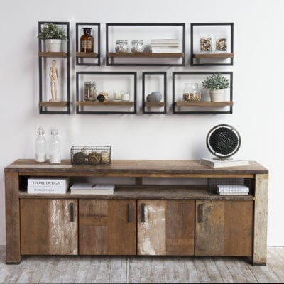reclaimed teak Shelfmate 4