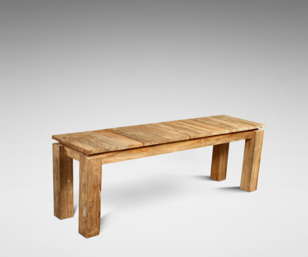 reclaimed teak furniture Long Bench Fortema