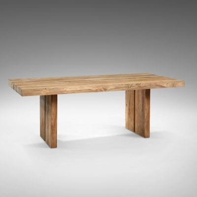 reclaimed teak radja dining table