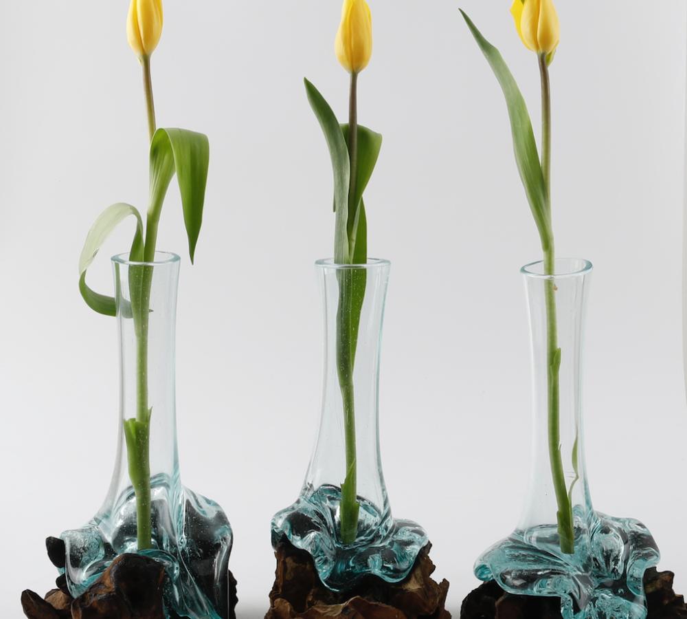 Handblown Glass Vase 3s