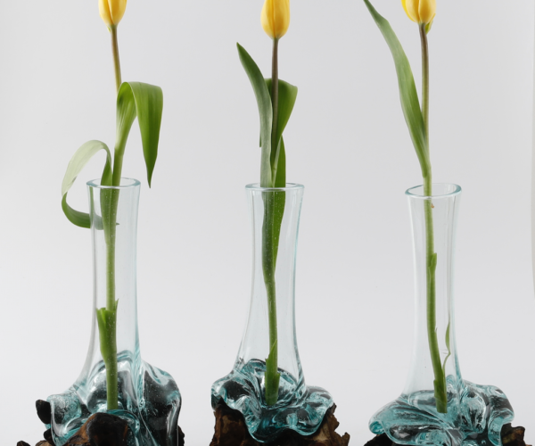 Handblown Glass Vase 3s