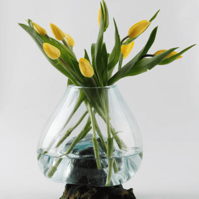 Handblown Glass Vase - MED £100