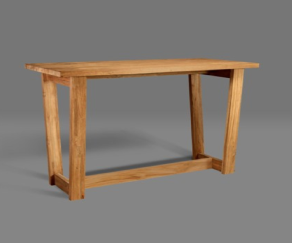 reclaimed teak Dona bar table