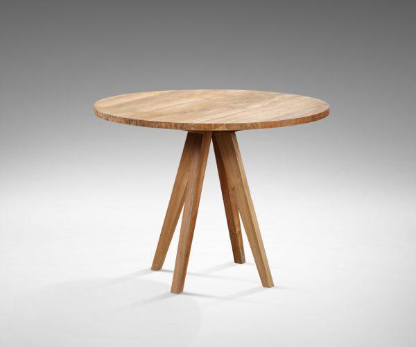 reclaimed teak Round table Sally Top 3cm (100x100x78cm )