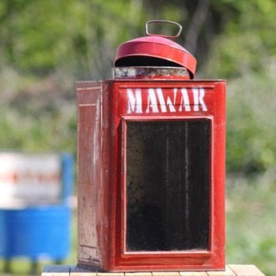 Metal Red Lantern