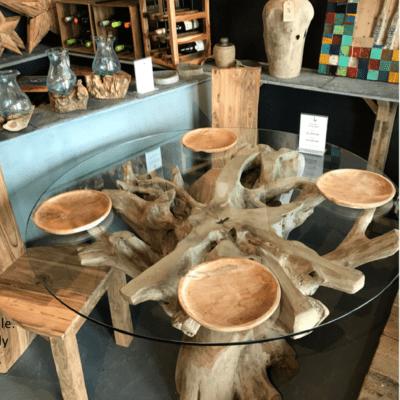 Teak Root Natural Grey