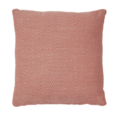 Weaver Green Coral Cushion