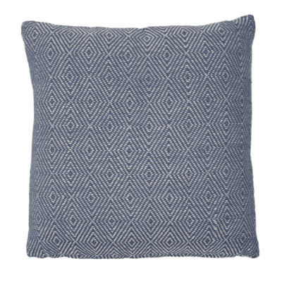 Weaver Green Navy Cushion