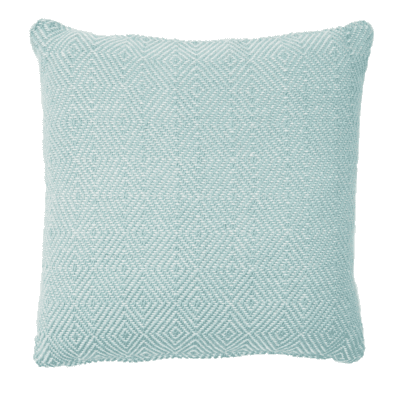 Weaver Green Teal Cushion