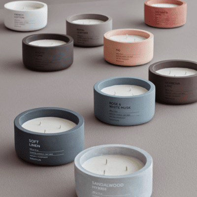 Candles, Candle Holders & Scents